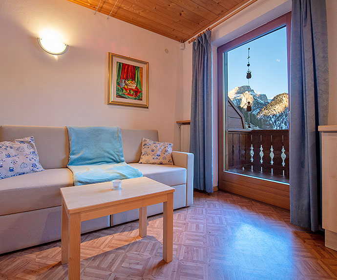Holiday apartments in Selva Val Gardena